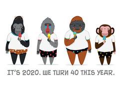 WE TURN 40 THIS YEAR