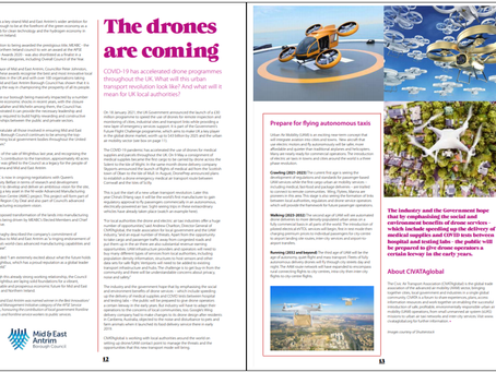 THE DRONES ARE COMING!