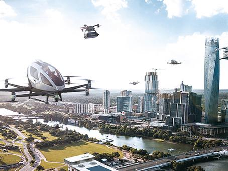 EHang Wins Urban Air Mobility Call from Paris Region