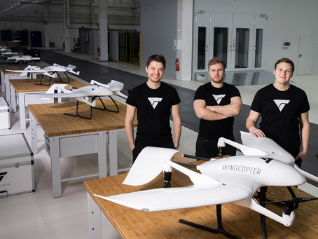 Wingcopter raises $22M to advance technology leadership in drone delivery