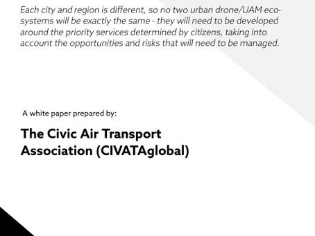 A Roadmap for Local Authority-Managed Drone and Urban Air Mobility (UAM) Eco-systems