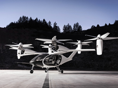 Joby goes Public and Plans Commercial Flights by 2024
