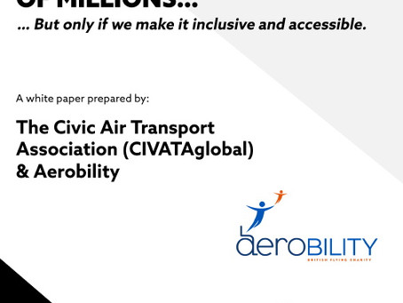 Urban Air Mobility 'must incorporate the needs of disabled citizens'