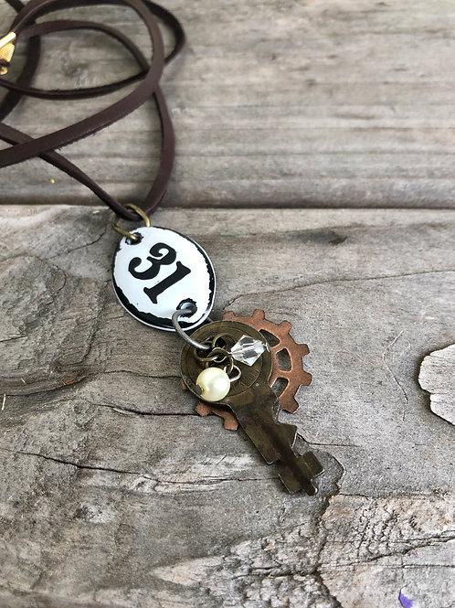 Vintage Key Necklace Number 31