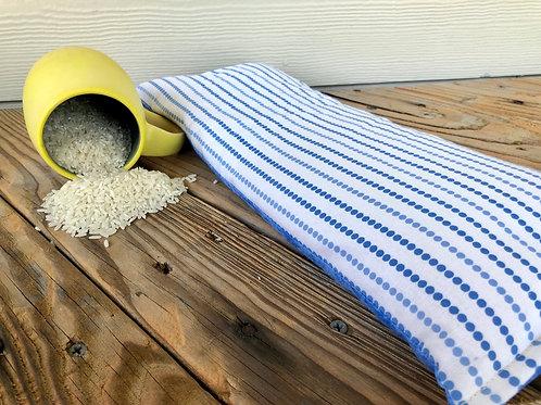 Bev's Rice Bags Blue Dots