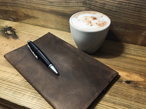 Classic Leather Notebook  5x8