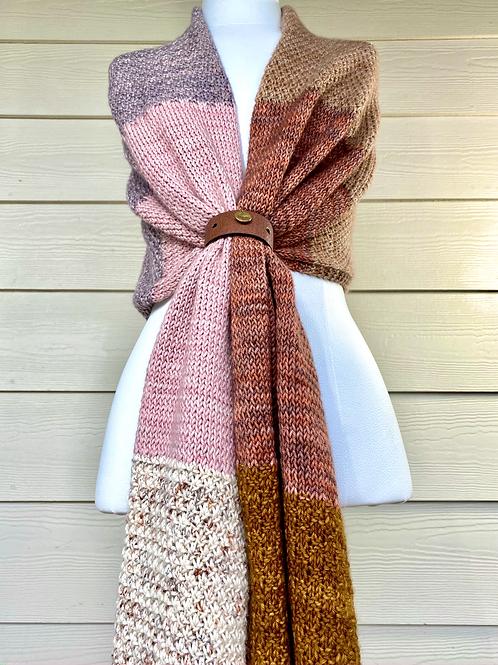 Knit & Purl Wrap Digital Knitting Pattern