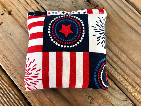 "Americana Pocket Rice Bags - Hand Warmers, ""BooBoo"" Packs, Set of 3"
