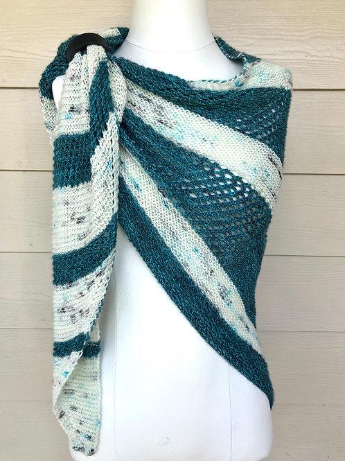 Oceanside Shawl Hand Knit