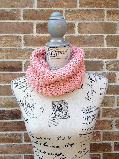 Kids Cowl Digitial Knitting Pattern Beginner