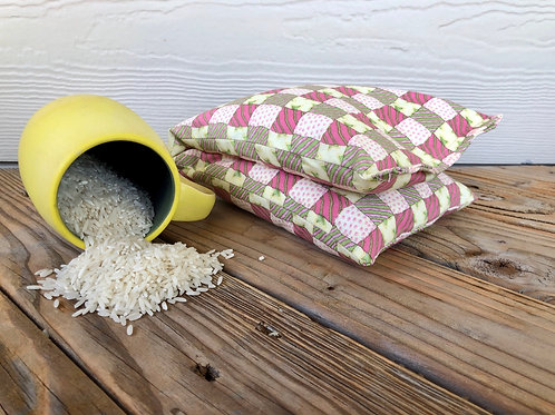 Bev's Rice Bags Spring Patchwork
