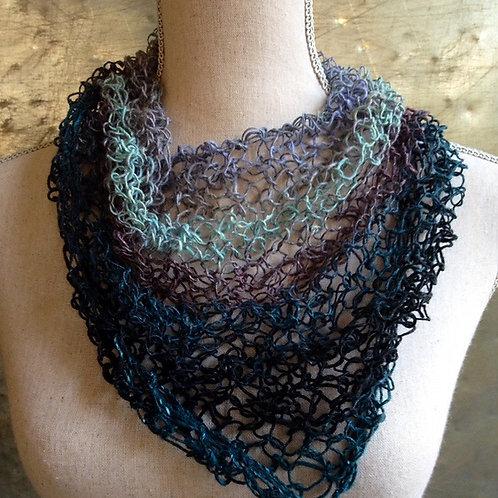 Light Triangle Scarf Digital knitting Pattern Beginner