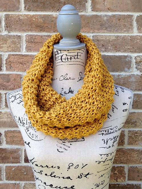 Chunky Cowl Digital knitting Pattern Beginner