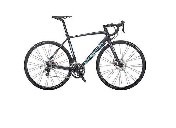 "Bianchi Impulso 105 Men's Road Bike Disc 57"""