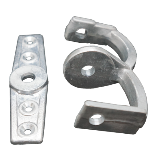 Clevis and Plate
