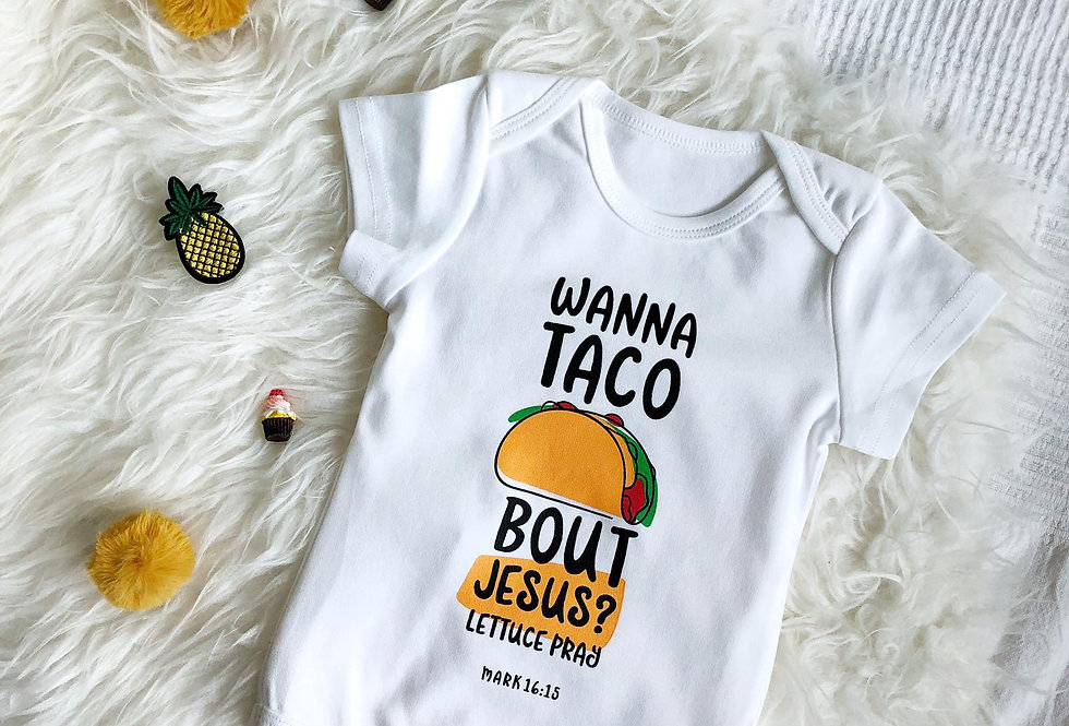 Wanna taco 'bout Jesus? [As-is]