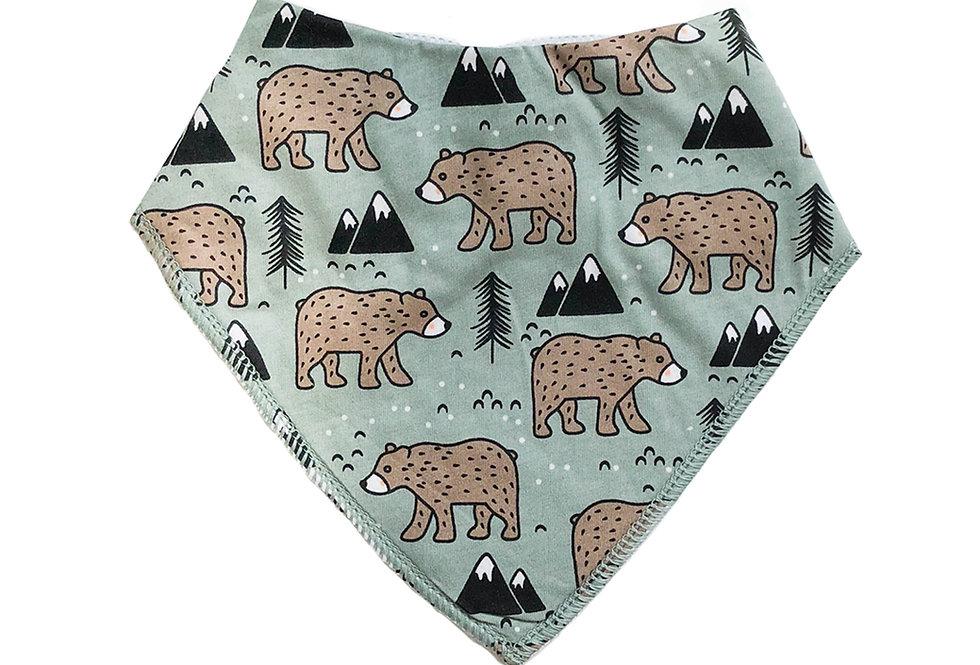 Bear Baby Bib