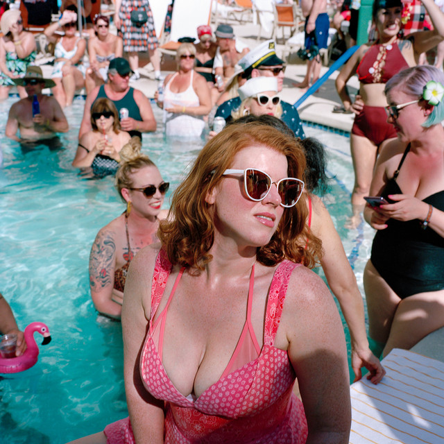 """Poolside Bombshell"" Las Vegas, USA"