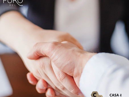 CDA estabelece parceria com a Puro Mel