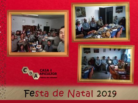 CDA promoveu convívio de Natal