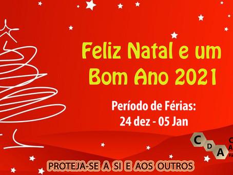 Feliz Natal e Bom Ano 2021