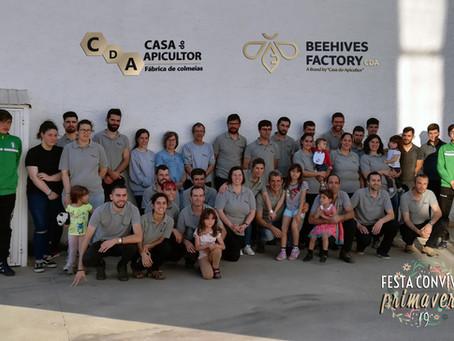 CDA promoveu no passado sábado uma festa primaveril para colaboradores e seus familiares