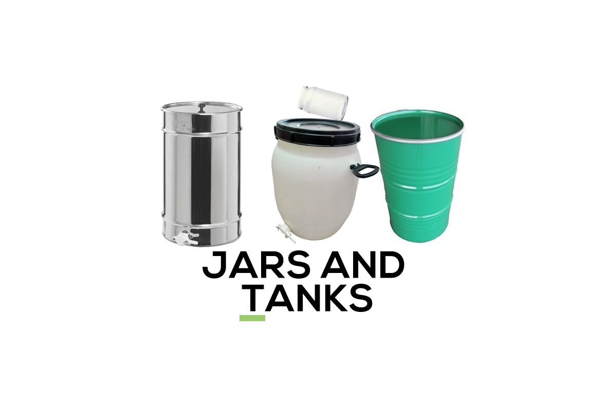 JARS AND TANKS