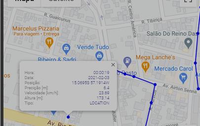 Monitoramento por GPS