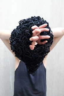 Black Nest_old black tights_40x32x26cm_2018