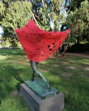 Little red riding Hood at Jenisch Park