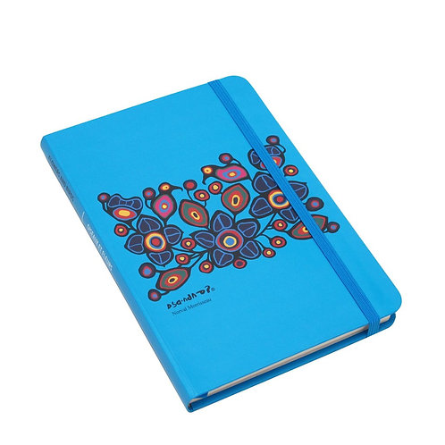 Norval Morrisseau Flowers and Birds Artist Hardcover Journal