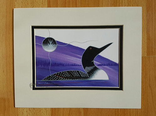 Loon - Gelineau Fisher Art Print