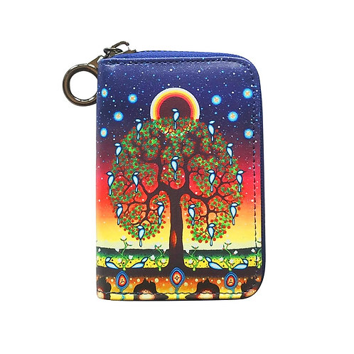 James Jacko Tree of Life Coin Wallet