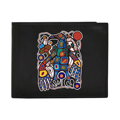 Norval Morrisseau Man Changing into Thunderbird Men's Wallet