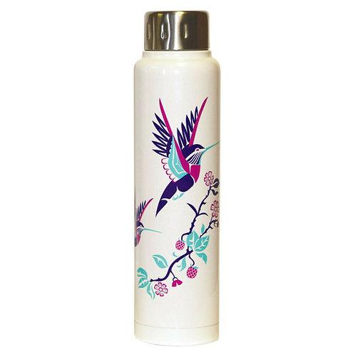 Insulated Totem Bottle - Hummingbird by Karen Francis