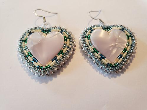Beaded Earrings  - Lisa Beardy