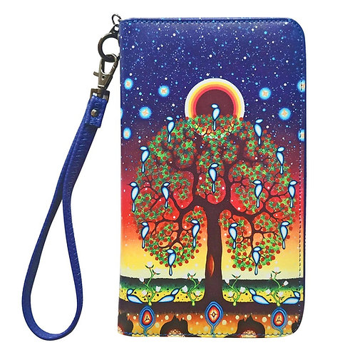 James Jacko Tree of Life Travel Wallet