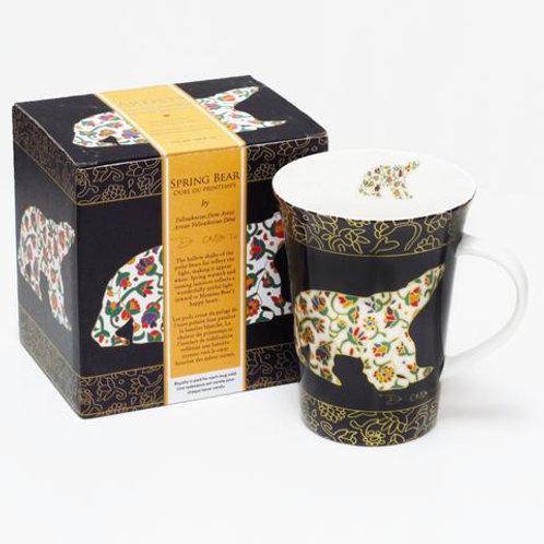 Dawn Oman Spring Bear Porcelain Mug
