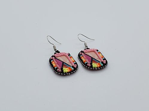 Beaded Earrings - By Lisa
