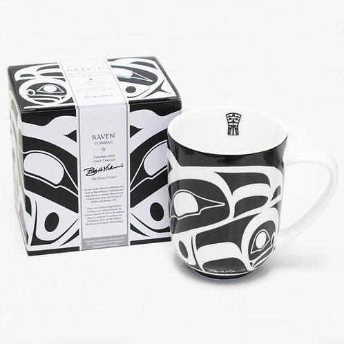 Roy Henry Vickers - Raven Porcelain Mug