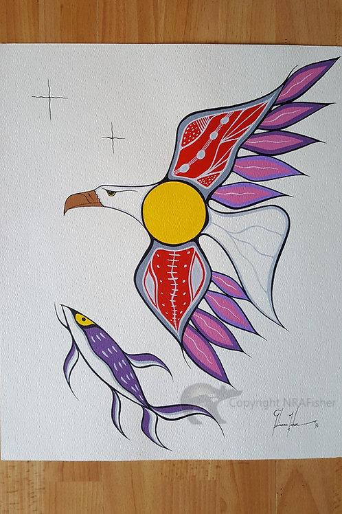 Purple Eagle Set (b)
