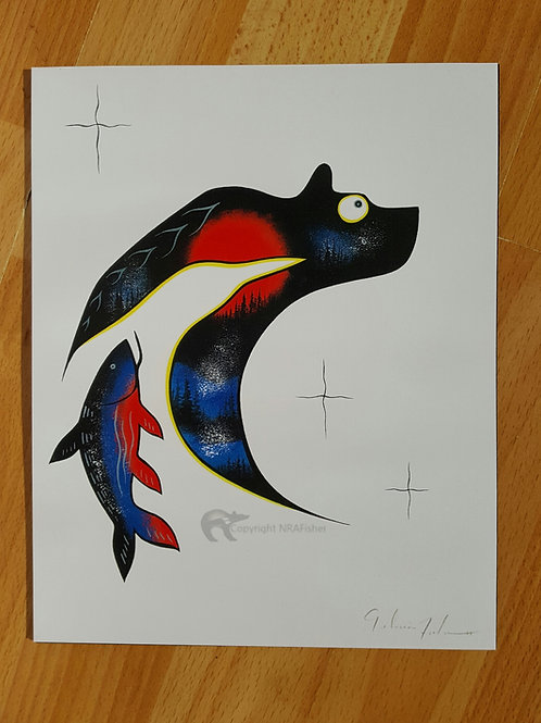 Mukwa - Gelineau Fisher Art Print