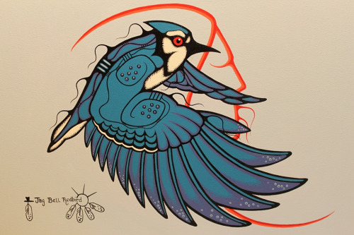 Jay Bell Redbird Artwork