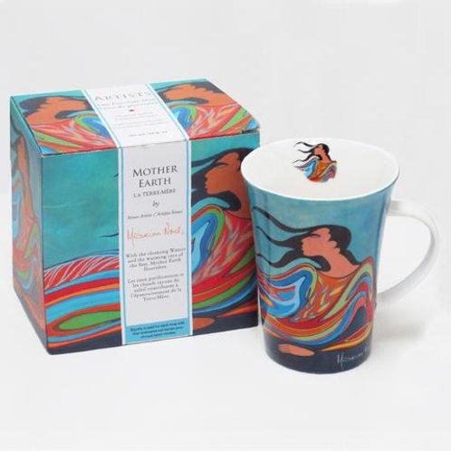 Maxine Noel Mother Earth Porcelain Mug