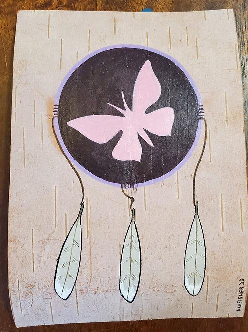 Butterfly Dream Catcher  - Original