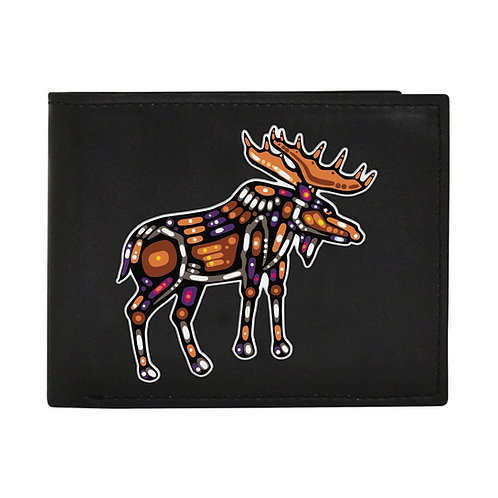 John Rombough Moose Men's Wallet