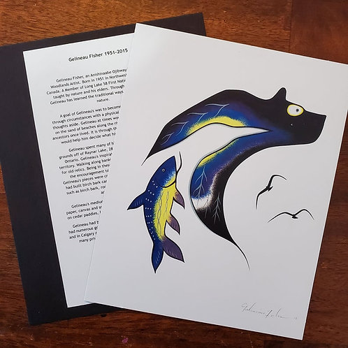 Bear - Gelineau Fisher Art Print