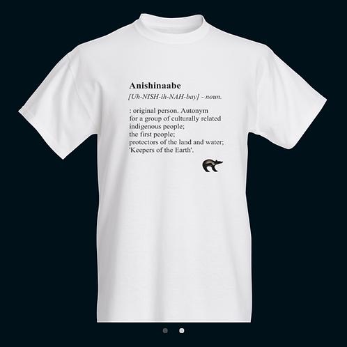Anishinaabe Definition Tee