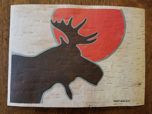 Moose - Nigel Fisher Original