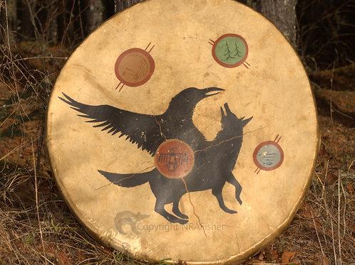 Moose Hide Drum